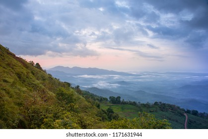 Kerala Nature, Beauty, Top View of Palakkayam Thattu, Kannur, Kerala