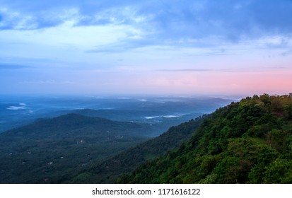 Kerala Nature scenery, Top View of Palakkayam Thattu, Kannur, Kerala, best place to see sunrise, beautiful mountain view