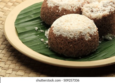 Kerala Puttu - An Indian breakfast dish