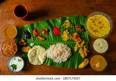 kerala special Meals called sadhya is a traditional kerala meals occasionaly served during festive  seasons and marriage functions.