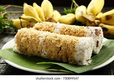 Kerala traditional breakfast puttu