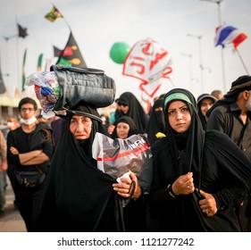 kerbala/Iraq/11/03/2017/peope are going to karbala in arbaeein/
