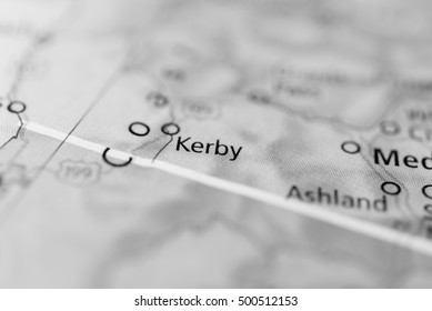 Kerby, Oregon, USA.