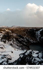 Kerid Volcanic crater, Golden Circle, Iceland
