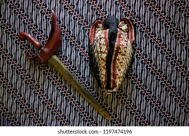 Keris and Blangkon, Traditional Wear for Javanese Man, Yogyakarta Indonesia