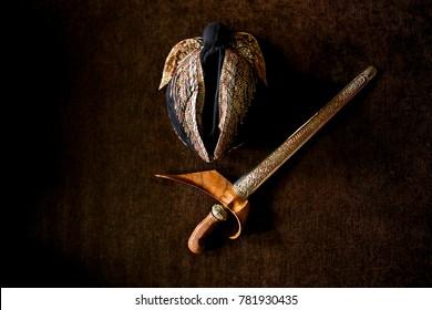 Keris and Blangkon, Traditional Wear for Javanese Man