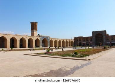 Kerman, Iran - April 2016. Ganjali Khan Complex, Kerman, Iran