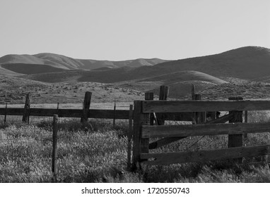 Kern County Mountains with pasture