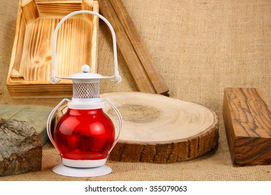 kerosene lamp