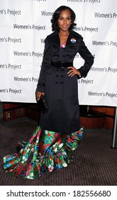 Kerry Washington, in an Obama button and an Oscar de la Renta dress, at The Women's Project's 23rd Annual WOMEN OF ACHIEVEMENT Gala, The Rainbow Room, New York, March 03, 2008
