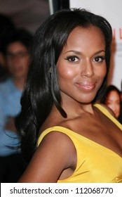 """Kerry Washington at the premiere of """"I Think I Love My Wife"""". ArcLight Theatre, Hollywood, CA. 03-07-07"""