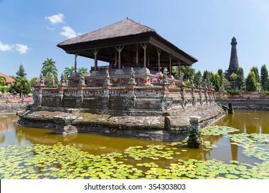 Kertha Gosa Pavilion in Klungkung Palace, Semarapura