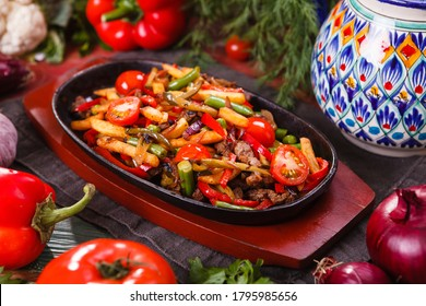 Ker-u-sus traditional dish of Armenia - Shutterstock ID 1795985656