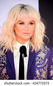 Kesha at the 2016 Billboard Music Awards held at T-Mobile Arena in Las Vegas, USA on May 22, 2016.