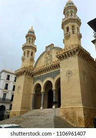 Ketchaoua Mosque in Casbah of Algiers, Algeria.