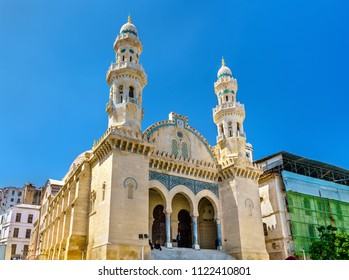Ketchaoua Mosque in Casbah of Algiers. UNESCO world heritage in Algeria, North Africa