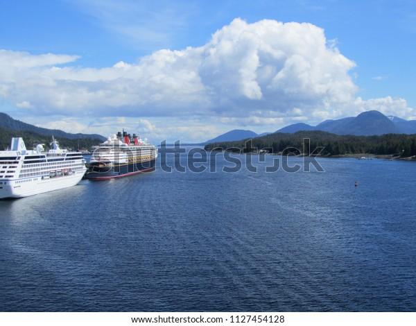 Ketchikan Alaska Usa On 07062018 Ms Stock Photo (Edit Now