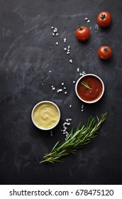 Ketchup with herbs