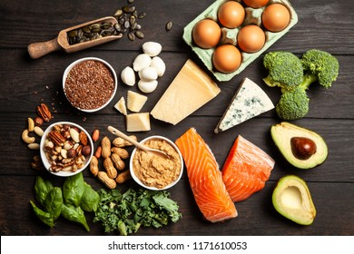 Keto diet food ingredients