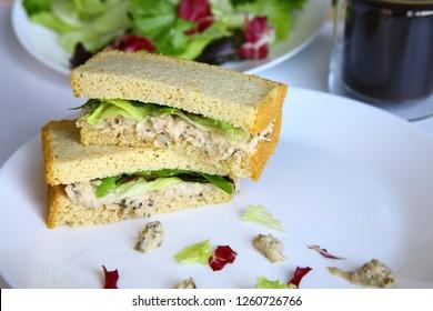 Ketogenic Tuna Sandwich Bread, no flour, no sugar, gluten-free. Low Carb, Diabetes, Paleo.