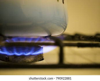 Kettle on the cooker