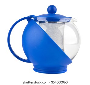 kettle for tea isolated background