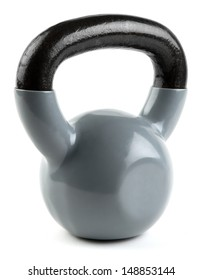 Kettleball isolated on a white background