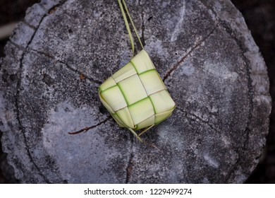 Ketupat or known as rice dumpling is a local delicacy among Malay Muslims during festive season in Malaysia, in a form of natural rice casing made from young coconut leaves for cooking rice.