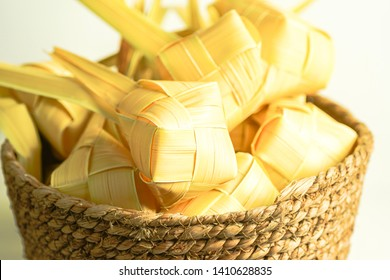 Ketupat (rice dumpling) is a local delicacy during the festive season in South East Asia, especially during eid fitri. Ketupat, a natural rice casing made from young coconut leaves for cooking rice