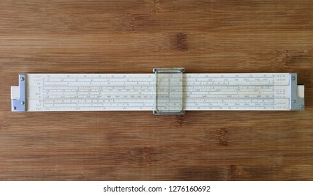 Keuffel & Esser 4081-3 Log Log Duplex Decitrig slide rule reverse face. Collecting Vintage slide rules. Miami January 4, 2019