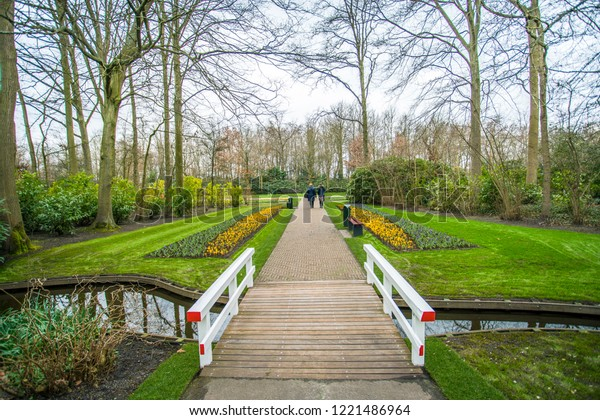 Keukenhof Kitchen Garden Known Garden Europe Royalty Free Stock