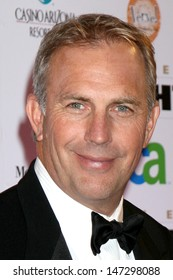 Kevin Costner & Wife Christine Fight Night XIV JW Marriott Resort Phoenix, AZ April 5,