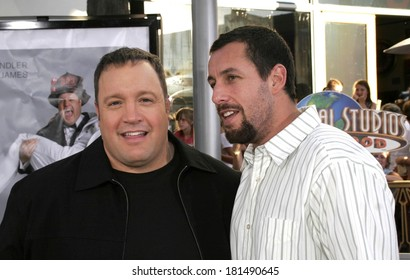 Kevin James, Adam Sandler at I NOW PRONOUNCE YOU CHUCK AND LARRY Premiere, Gibson Amphitheatre and CityWalk Cinemas, Los Angeles, CA, July 12, 2007