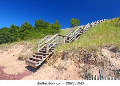 Keweenaw Peninsula Northwoods Beach Michigan