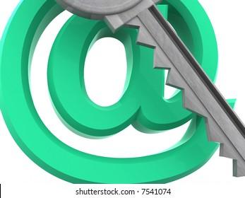 Key. 3d