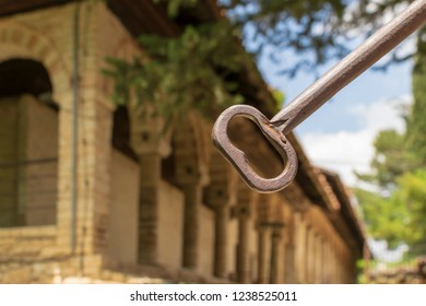 The Key to the Ammunition Depot in the Aslan Pasha Mosque!
