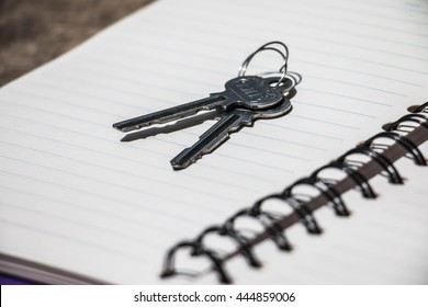 Key and book