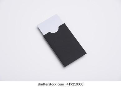 Key card Holder Mockup