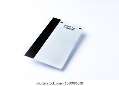 key card in white background