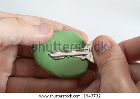 Key Copy Hoax Steal Key Copy Stock Photo (Edit Now) 1943732