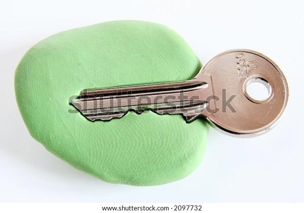 Key Copy Hoax Steal Key Copy Stock Photo (Edit Now) 2097732