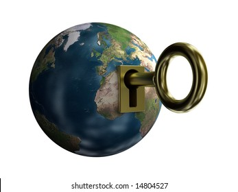 key from earth