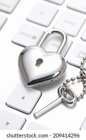 The Key Of Heart And Keyboard