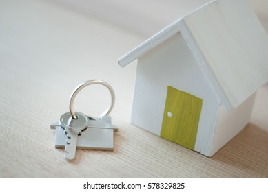 key for house for real estate concept