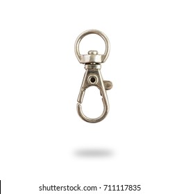 Key ring,isolate on white background with clipping path.