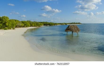 Key of Saint Mary (Cayo Santa Maria), an small island off Cuba's north central coast.