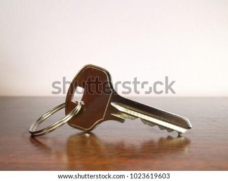 key unlocking lock on dark background stock photo edit now