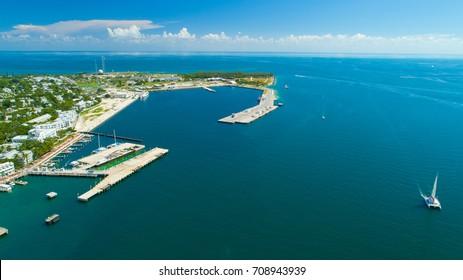 Key West Aerial view. Florida. USA.
