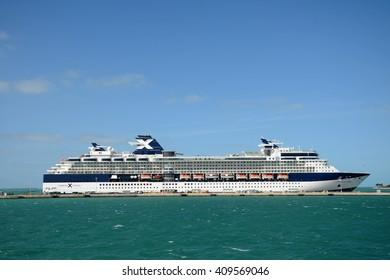 KEY WEST, FL, USA - DEC 20: Celebrity Constellation docked on December 20th, 2012 in Key West, Florida, USA.