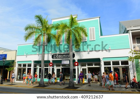 de698c6082 KEY WEST FL USA JAN 1 Stock Photo (Edit Now) 409212637 - Shutterstock